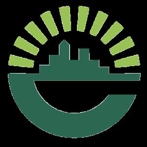 ECC green city icon