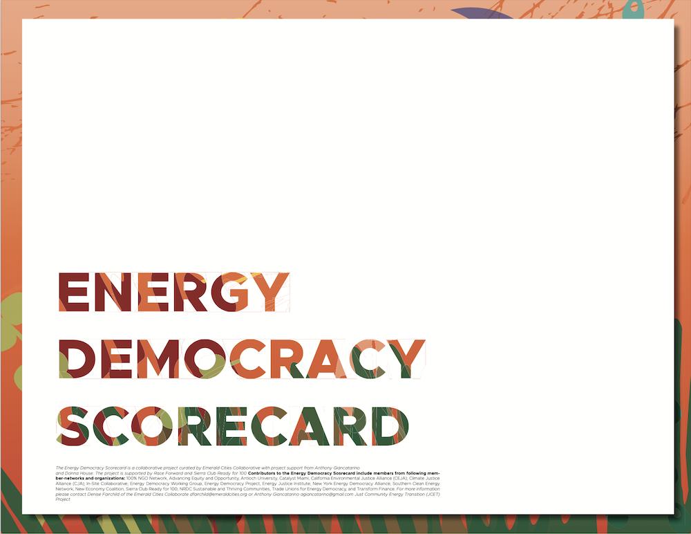 Energy Democracy Scorecard